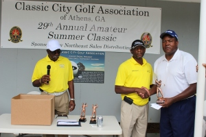 Willie Fields 1st Place Championship Flight